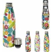 Bouteille isotherme fleurie 50cl COOK CONCEPT (assortiment)