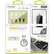 Câble 3 connectiques + CAC 1A offert MOXIE
