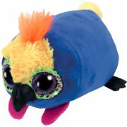 Peluche Diva le perroquet 9cm TEENY TYS SMALL