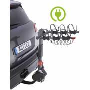 Porte-vélos attelage suspendu pour VAE A033P3ELEC (3 vélos)
