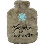 Bouillotte peluche Flocon Cocooning