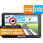 GPS Poids lourds SNOOPER PL6600 - carto gratuite à vie