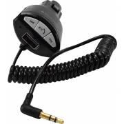 Kit mains-libres Bluetooth 12/24V recharg. sur aux. 2.1A