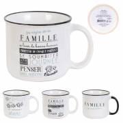 Mug vintage famille 30cl