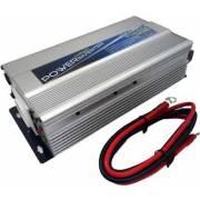 Convertisseur 12/24V auto 230V/800W prise USB 2.1A