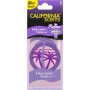 Désodorisant plaquette palmiers Vanille CALIFORNIA SCENTS