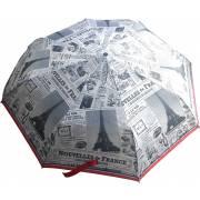 Parapluie rétractable journal PARIS